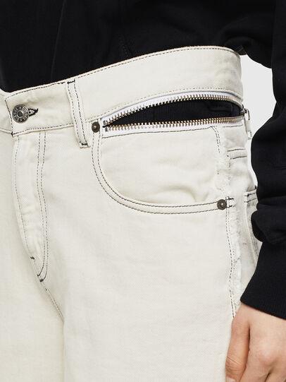 Diesel - Widee 009BD, Bianco - Jeans - Image 5
