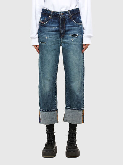 Diesel - D-Reggy 0079P, Blu Scuro - Jeans - Image 1