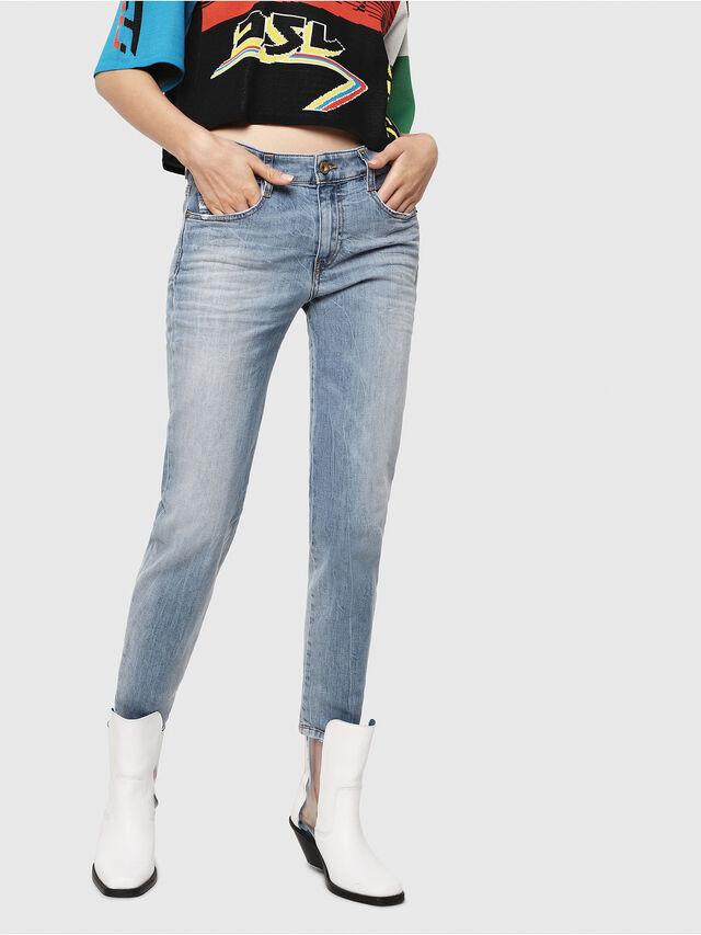 Diesel - D-Rifty 081AL, Blu Chiaro - Jeans - Image 1