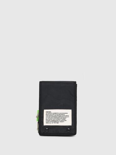 Borsa a tracolla bicolore Green Label