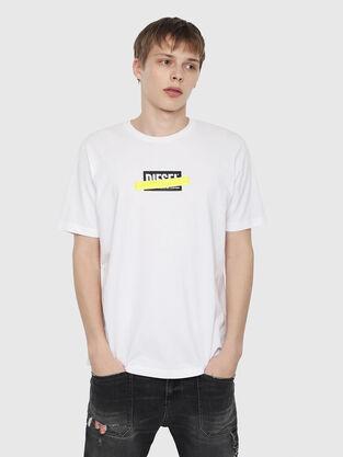 02ee9f55117fb0 T-shirt Uomo Diesel: logo, con stampe | Diesel Online Store