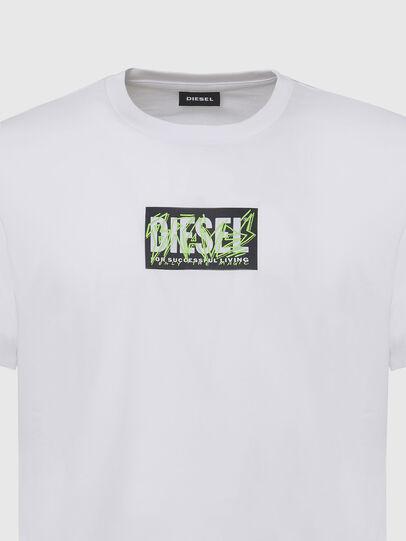 Diesel - T-DIEGOS-N34, Bianco - T-Shirts - Image 3
