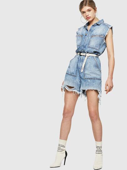 Diesel - DE-BETTE, Blu Jeans - Tute e Salopette - Image 5