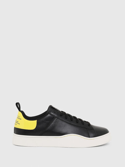 Diesel - S-CLEVER LOW LACE, Nero/Giallo - Sneakers - Image 1