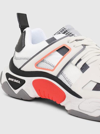 Diesel - S-KIPPER LOW TREK II, Bianco - Sneakers - Image 4