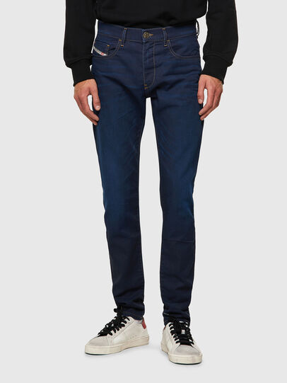 Diesel - D-Strukt JoggJeans® Z69VZ, Blu Scuro - Jeans - Image 1