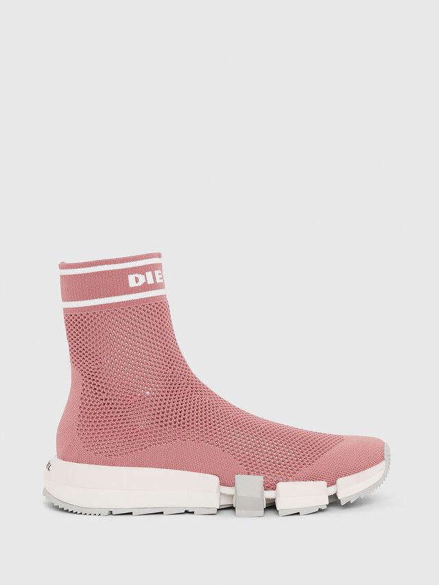 Diesel - H-PADOLA NET W, Rosa - Sneakers - Image 1