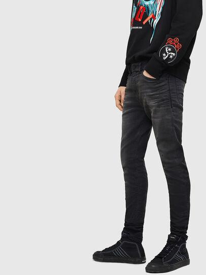 Diesel - Spender JoggJeans 069GN, Nero/Grigio scuro - Jeans - Image 6