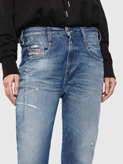 Diesel - Fayza 0097B, Blu medio - Jeans - Image 3