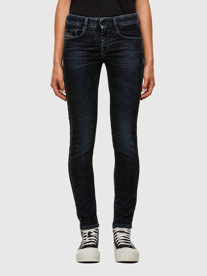Diesel - D-Ollies JoggJeans® 069UH, Nero/Grigio scuro - Jeans - Image 1