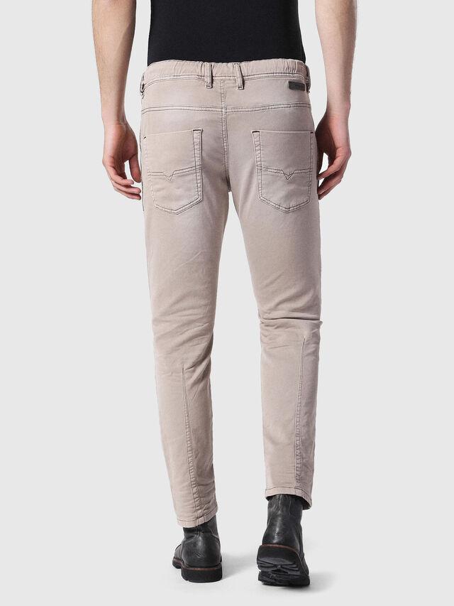Diesel - Krooley JoggJeans 0670M, Marrone Chiaro - Jeans - Image 2