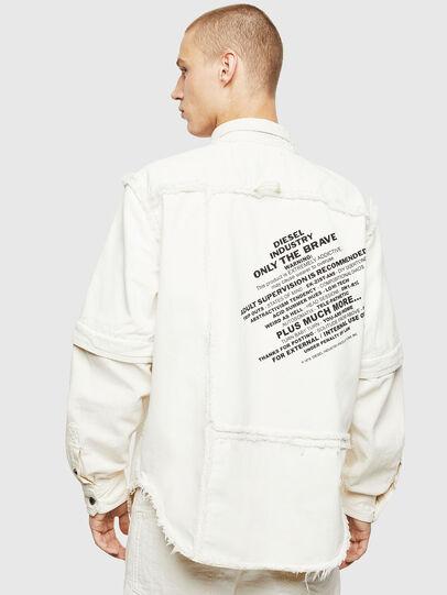 Diesel - D-KURTIS, Bianco - Camicie in Denim - Image 2