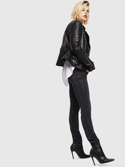 Diesel - D-Ollies JoggJeans 0093H, Nero/Grigio scuro - Jeans - Image 7