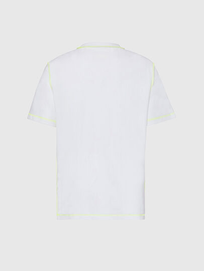 Diesel - T-JUSEAM, Bianco - T-Shirts - Image 2