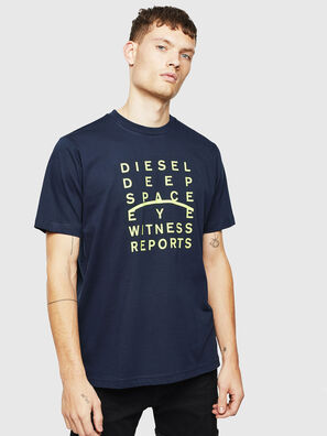 T-JUST-J5, Blu Scuro - T-Shirts