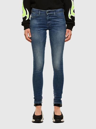 Diesel - Slandy 009FF, Blu medio - Jeans - Image 1