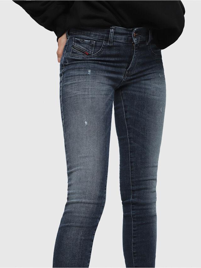 Diesel - Livier 0687L, Blu medio - Jeans - Image 3
