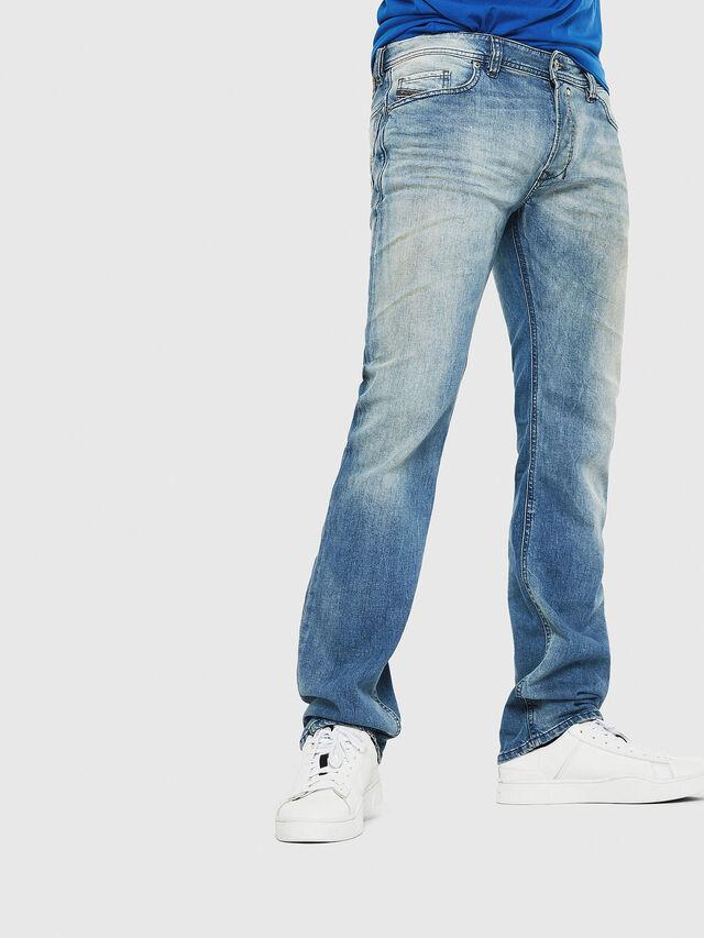 Diesel - Safado C81AP, Blu Chiaro - Jeans - Image 1