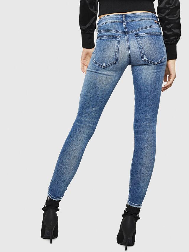 Diesel - Slandy Low 083AP, Blu medio - Jeans - Image 2