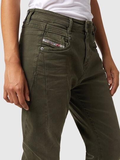 Diesel - Fayza JoggJeans® Z670M, Verde Militare - Jeans - Image 3