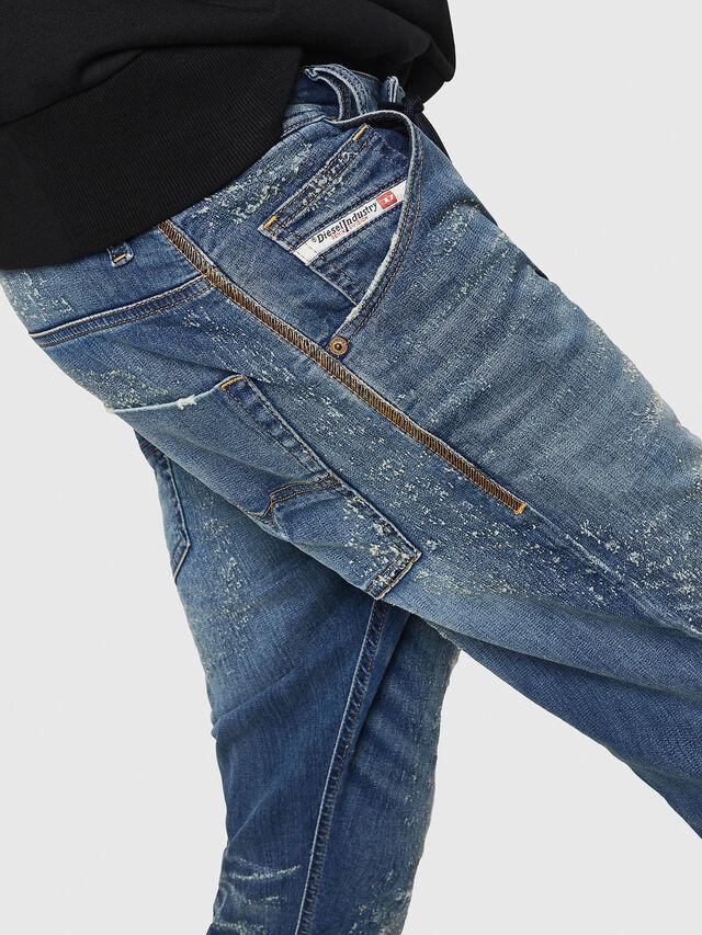 Diesel - Krooley JoggJeans 069HG, Blu medio - Jeans - Image 4