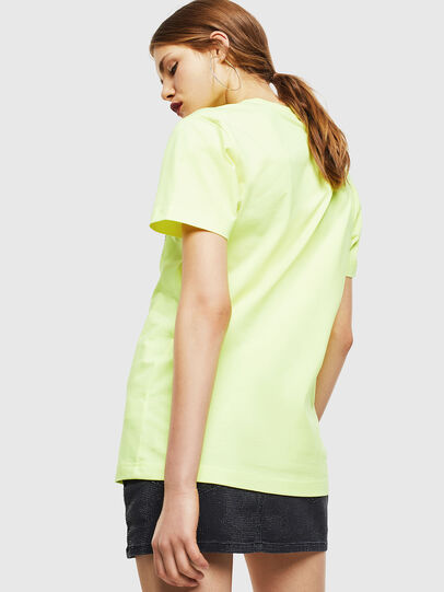 Diesel - T-DIEGO-J4, Giallo Fluo - T-Shirts - Image 4