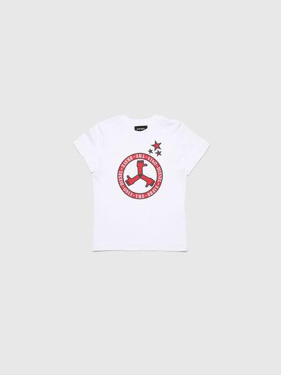 Diesel - TARTB-R, Bianco - T-shirts e Tops - Image 1