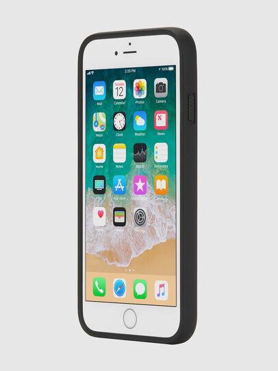 Diesel - MULTI TAPE BLACK/WHITE IPHONE 8 PLUS/7 PLUS/6S PLUS/6 PLUS CASE, Nero - Cover - Image 3