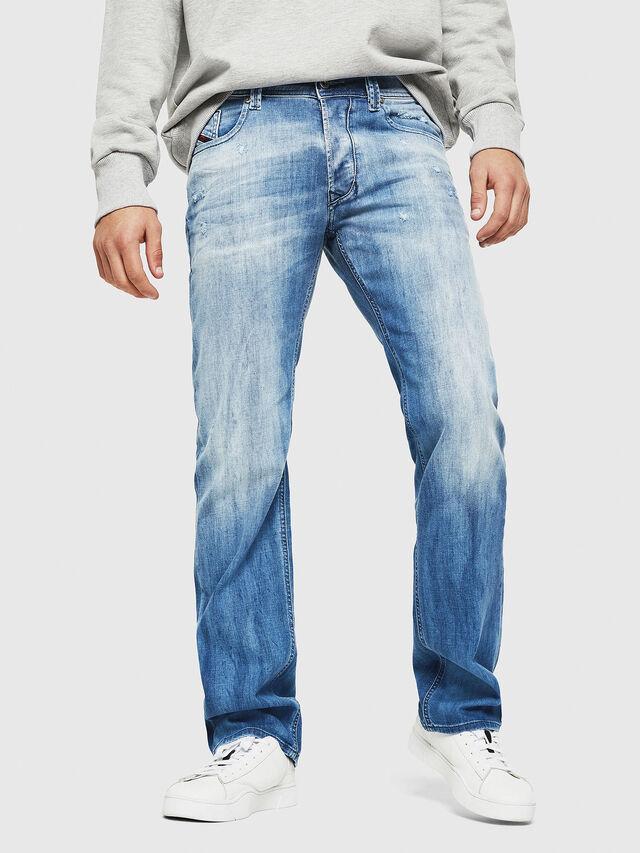 Diesel - Larkee 081AS, Blu Chiaro - Jeans - Image 1