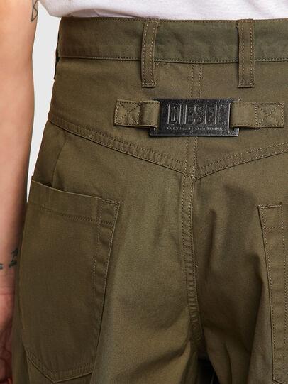 Diesel - P-JO-A, Verde Militare - Pantaloni - Image 4