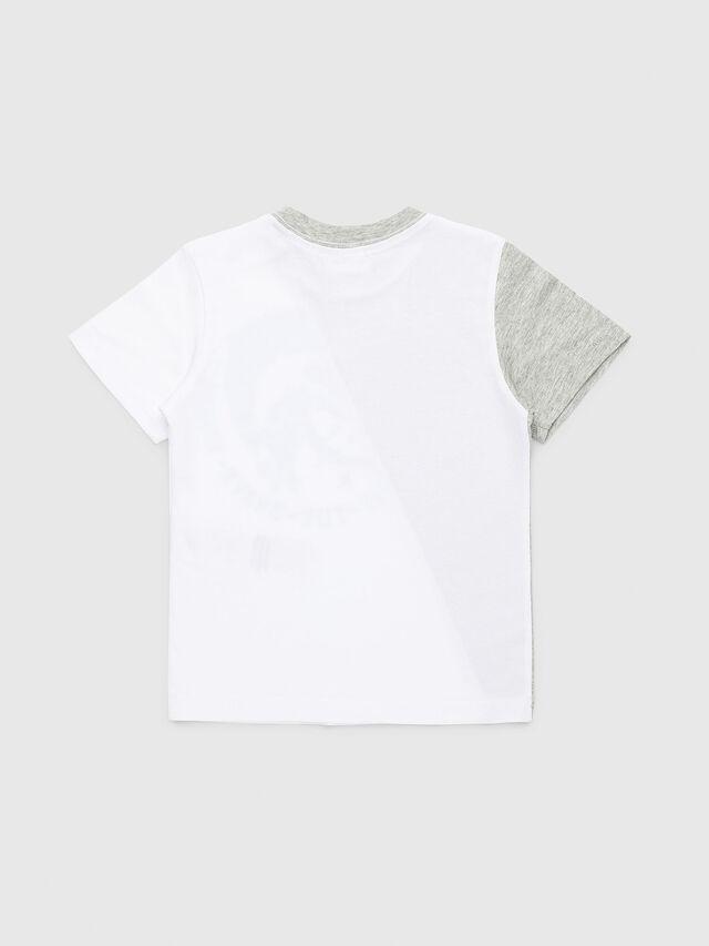 Diesel - TICAB, Bianco/Grigio - T-shirts e Tops - Image 2