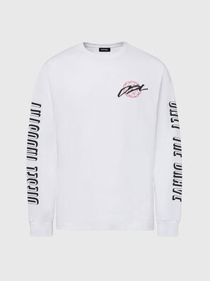 T-JUST-LS-X92, Bianco - T-Shirts