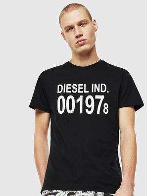 T-DIEGO-001978, Nero/Bianco - T-Shirts