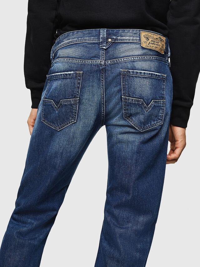 Diesel - Larkee 008XR, Blu Scuro - Jeans - Image 4