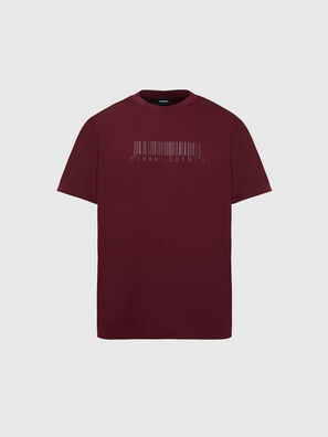 T-JUST-SLITS-X87, Rosso - T-Shirts