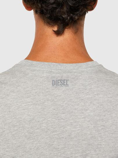 Diesel - T-DIEGOS-N28, Grigio - T-Shirts - Image 4