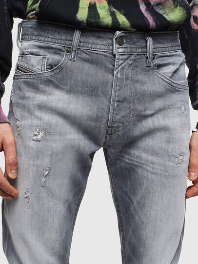 Diesel - Thommer 0095R, Grigio - Jeans - Image 3