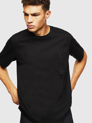 T-JUST-POCKET-J1, Nero - T-Shirts