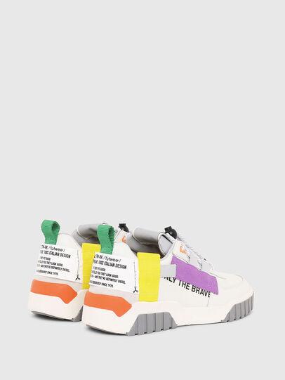 Diesel - S-RUA LOW SP W, Bianco - Sneakers - Image 3