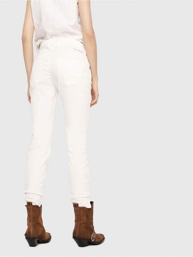 Diesel - Krailey JoggJeans 069DS, Bianco - Jeans - Image 2