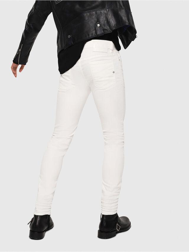 Diesel - Sleenker 084CY, Bianco - Jeans - Image 2