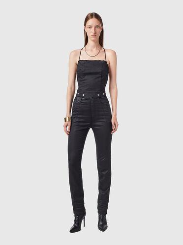 Tuta in JoggJeans® effetto coated