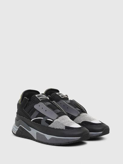 Diesel - S-BRENTHA DEC, Nero/Grigio - Sneakers - Image 2