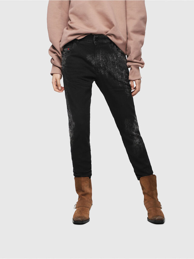 Diesel - Krailey JoggJeans 069DT, Nero/Grigio scuro - Jeans - Image 1