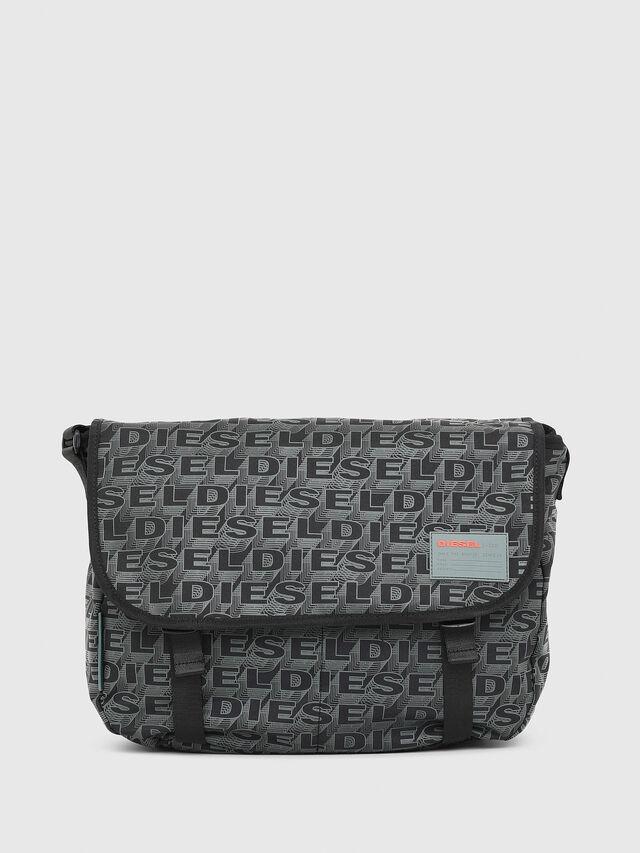 Diesel - F-DISCOVER MESSENGER, Nero/Verde - Borse da viaggio - Image 1