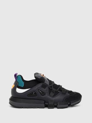 wholesale dealer bc6c1 3abfc Sneaker senza lacci in tessuto e pelle