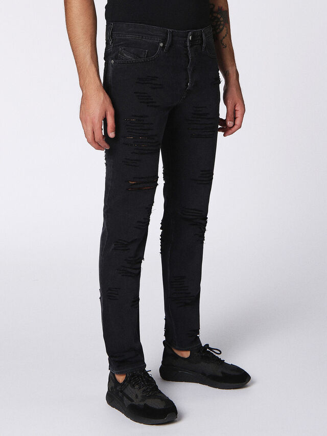 BUSTER 084PQ, Nero Jeans