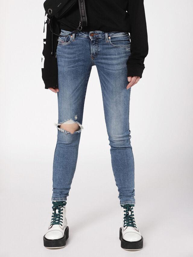 Diesel - Gracey 069AI, Blu medio - Jeans - Image 2