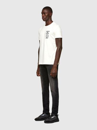 Diesel - T-DORYMO-A1, Bianco - T-Shirts - Image 5