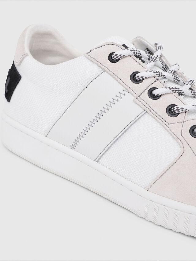 Diesel - S-MILLENIUM LC, Bianco/Rosa - Sneakers - Image 5